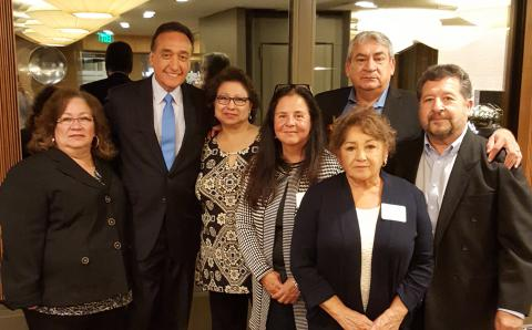 Lansing LLEAD members with former US Secretary of HUD, Henry Cisneros